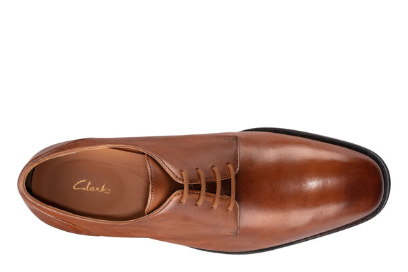 Gilman Lace  Dark Tan Leather - 26129772