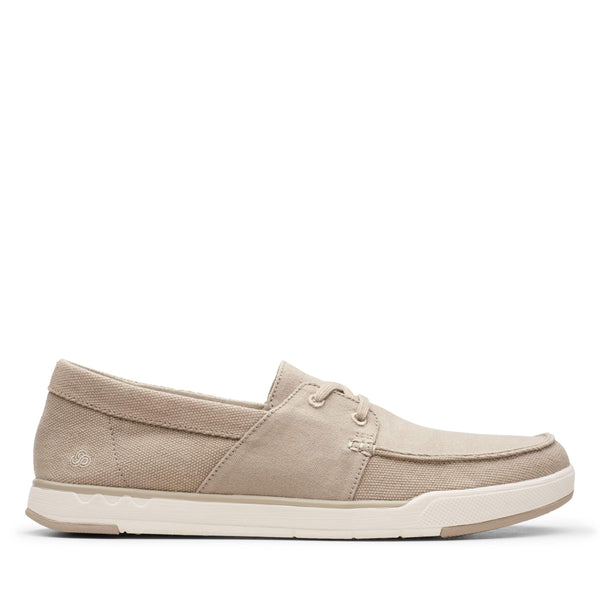 Clarks Step Isle Base Sand Canvas 26148969