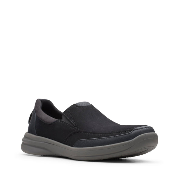 Clarks Step Stroll Edge Black