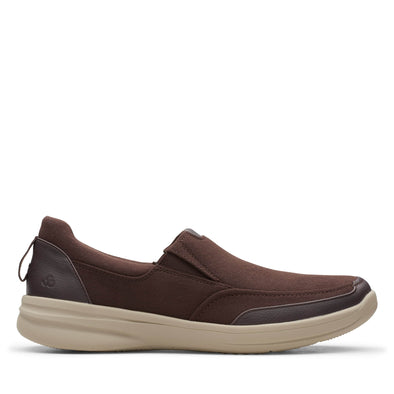 Clarks Step Stroll Edge Brown