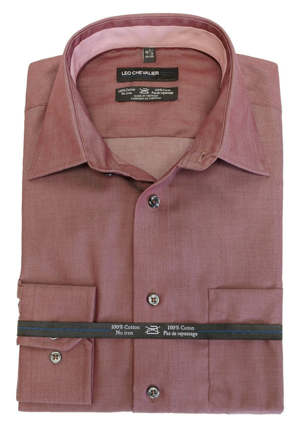 Rust Dress Shirt - Leo Chevalier