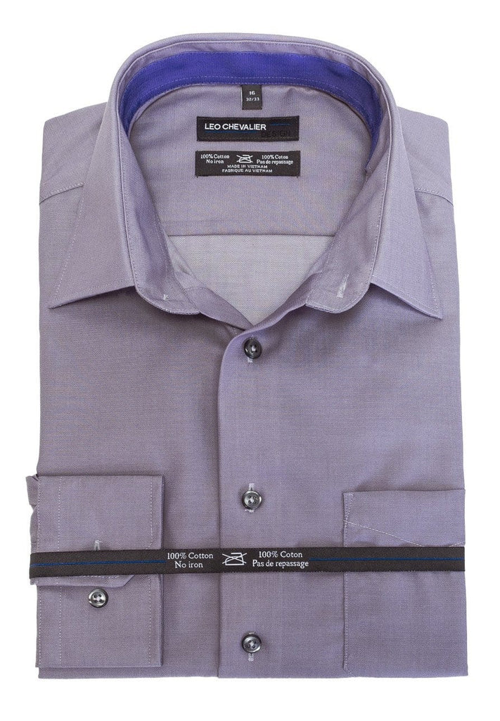 Purple Sage Dress Shirt - Leo Chevalier