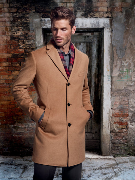 S. Cohen Weather Report Overcoat - Camel 281004