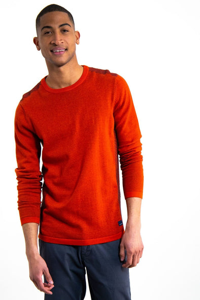 *Size Small Only* Garcia Men's Side Stripes Sweater - GS910732 2850