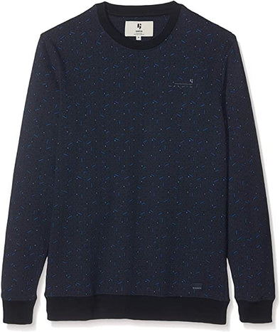 Garcia Crew Neck Sweater - Dark Moon - G91065 292