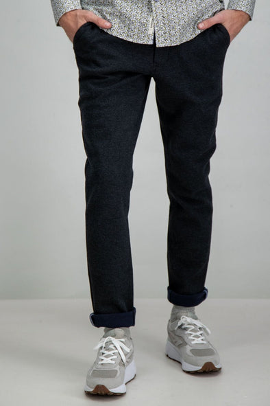 Garcia Grey Slim Fit Pants - H91115 321
