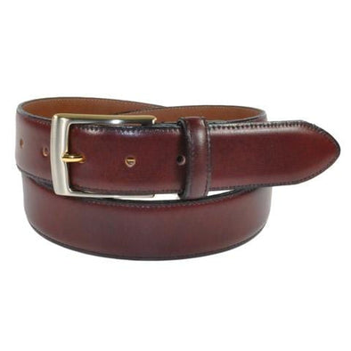 Bench Craft Leather Belt - 3536 - Burgandy