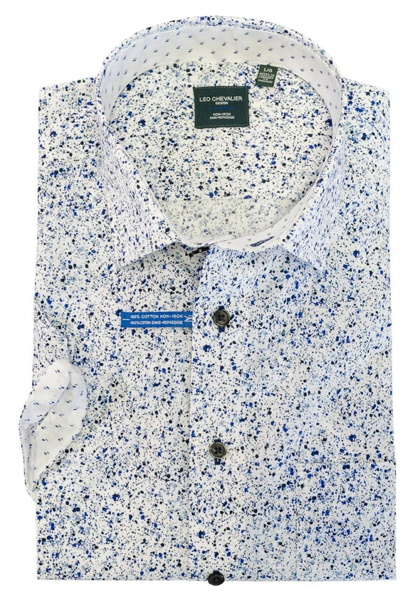 Leo Chevalier Short Sleeve Sport Shirt 522382 1700