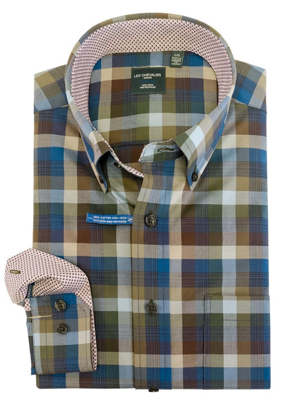 Leo Chevalier Tall Sport Shirt 523490/QT 5437