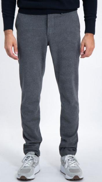 Garcia Grey Heather Pant w Flap Pockets - L91317 5580