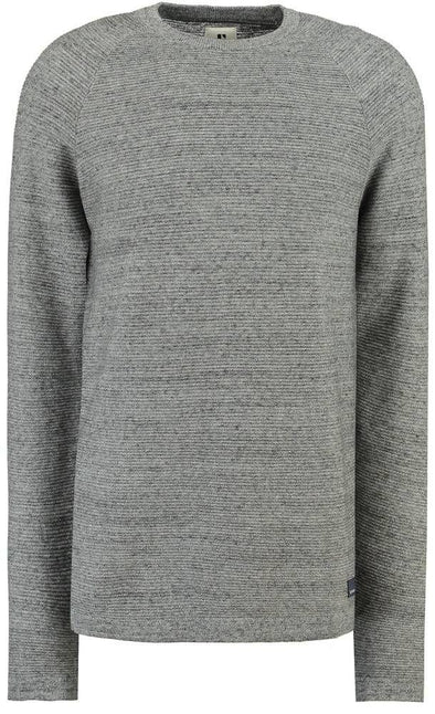 Garcia Grey Ribbed Sweater - GS910731 66