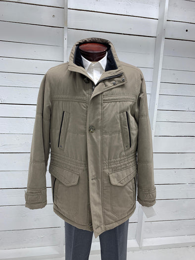New Canadian by Cabano Tan Colored Winter Jacket 40 R