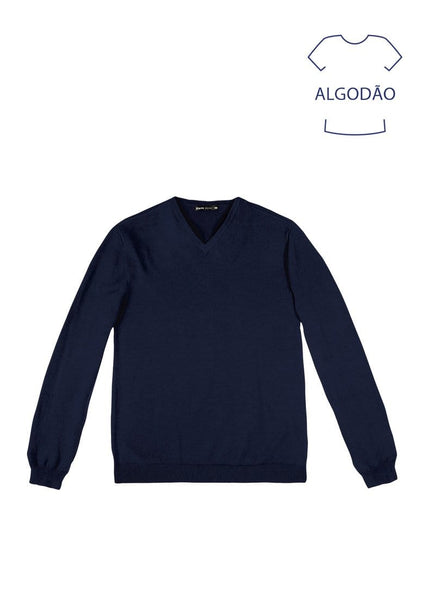 Hering Basicos Navy Sweater