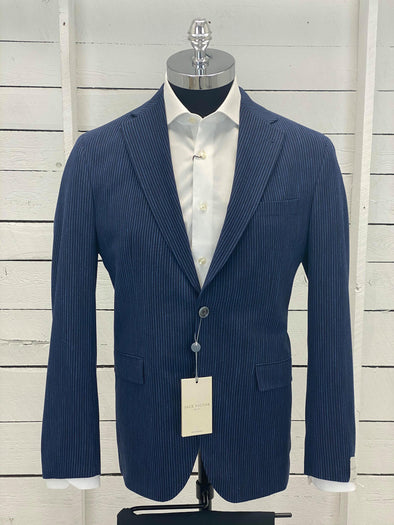 Jack Victor Sports Jacket Midland SPJ 1201457 Navy Stripes