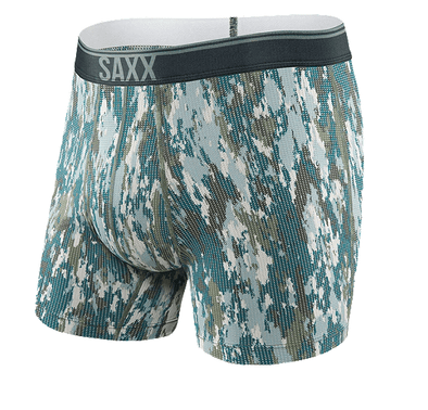 Saxx Quest Boxer Brief Bark Camo SXBB70F-BCA
