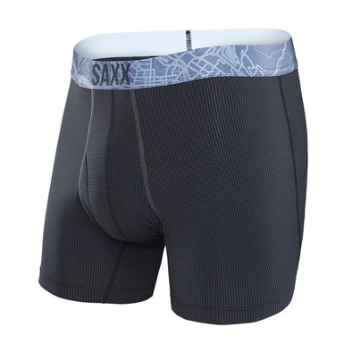 Saxx Quest Boxer Brief Black Charcoal SXBB70F-BGB