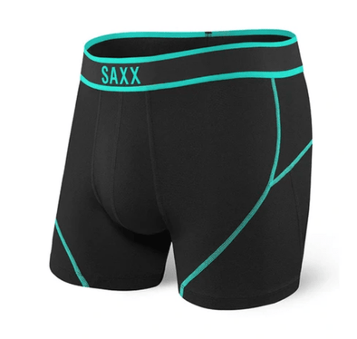 Saxx Kinetic Boxer Brief Black Topdrawers SXBB27-BLT