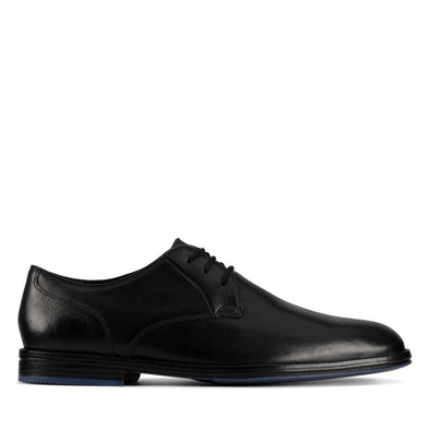 Clarks Citi Stride Lace-up Shoe - Black - 26153361