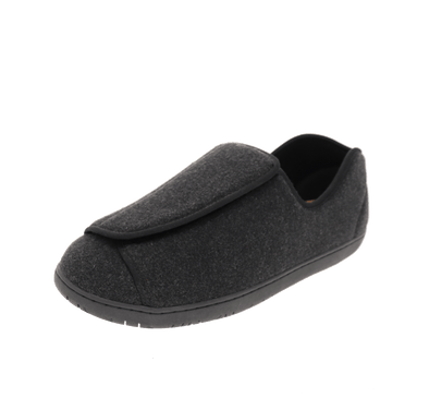 The Doctor 2 Extra-Depth Slipper in Blackwool - by Foamtreads