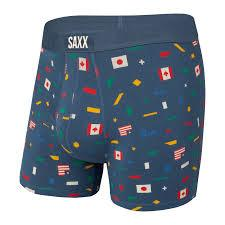 Saxx Vibe Boxer Brief - Dark Denim Unity - SXBM35 DDU