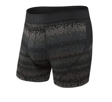 Saxx Kinetic Boxer Brief Black Frequency SXBB27-FRQ