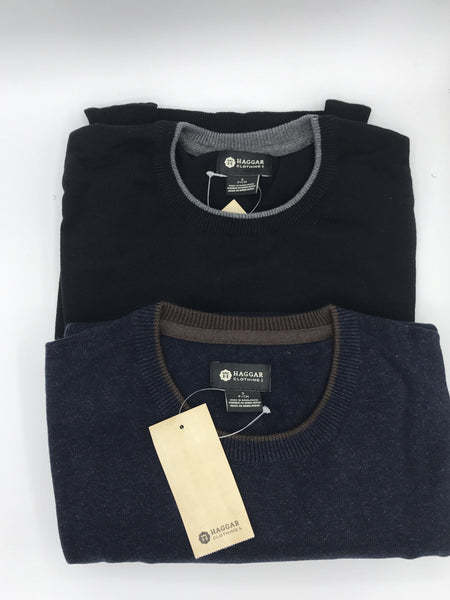 Haggar Crew Neck Sweater IFL050