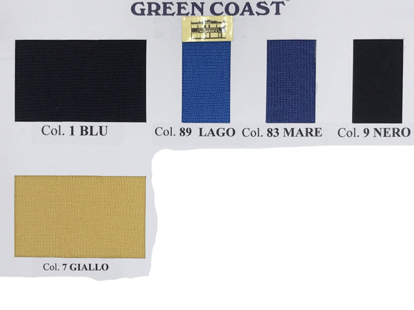 Green Coast Colour Chart