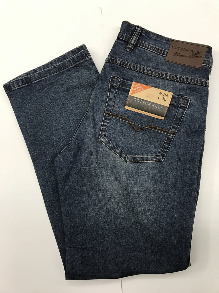Cotton Reel Medium Wash Jeans