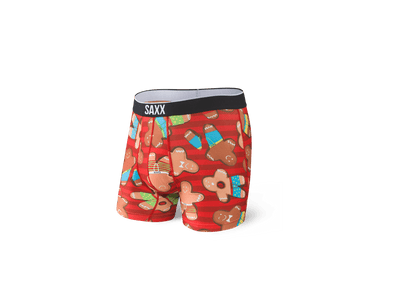 SAXX Volt Boxer Brief - Gingerbread Bros - SXBB29 GBB