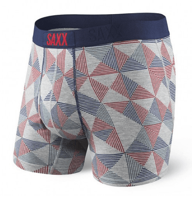 Saxx Ultra Boxer Brief Greek Pyramid Check SXBB30F GPY