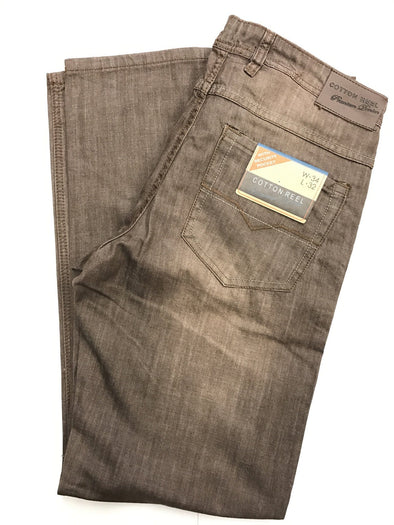 Cotton Reel Brown Jeans