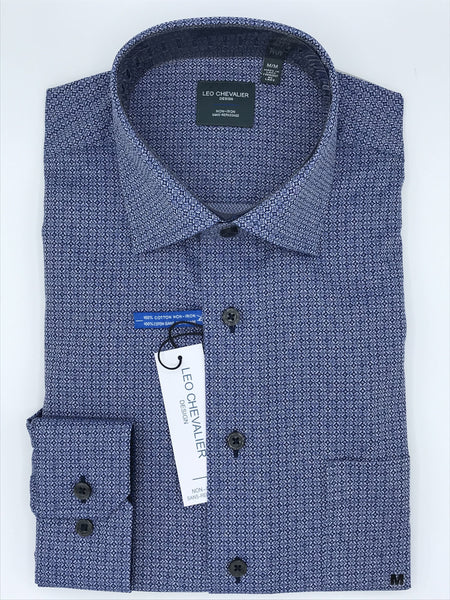 Leo Chevalier Long Sleeve Sport Shirt 523456 1798