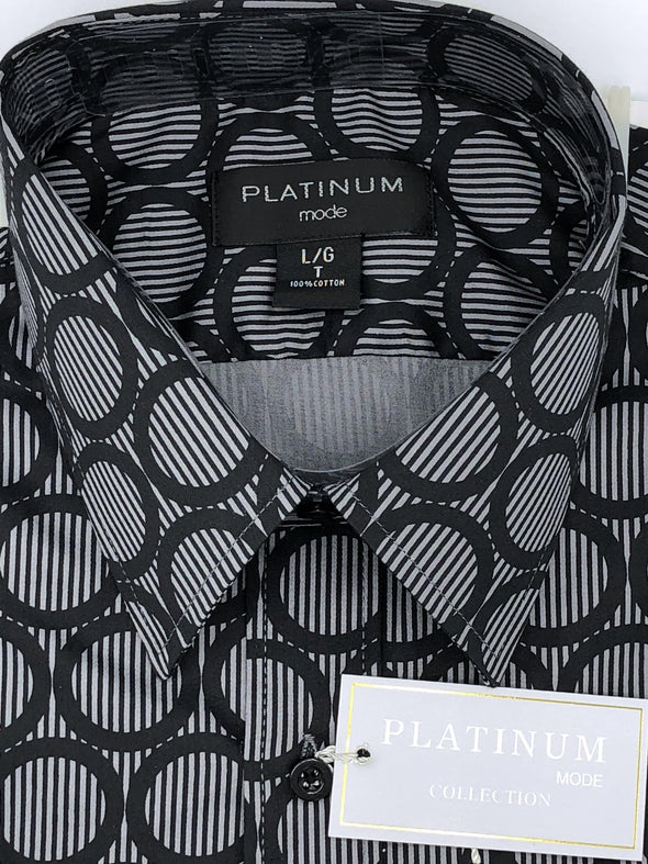 Platinum Big and Tall Short Sleeve Sport Shirt EN071500KT