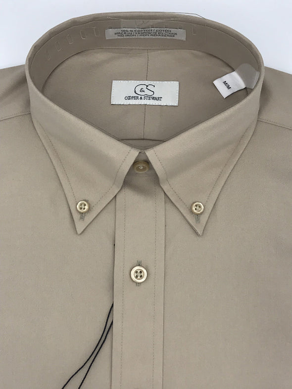 MEDIUM Cooper and Stewart Sport Shirt - 905010 Khaki