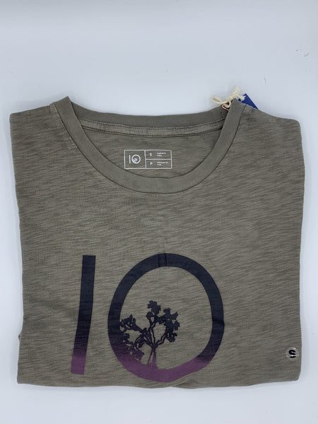 Ten Tree Gradient Ten SS Tee - Olive Night Green