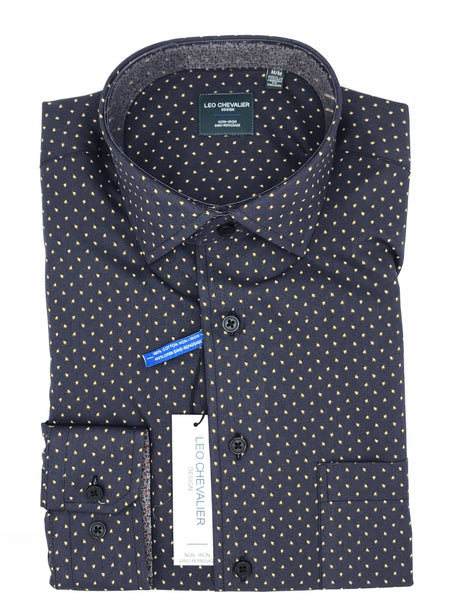 "Leo Chevalier Sport Shirt - 521484 1998 ""navy"""