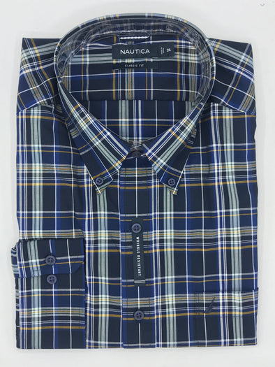 Nautica Big and Tall Sport Shirt - M73C58