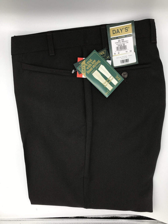Day's Six-Pack Pant - Brown