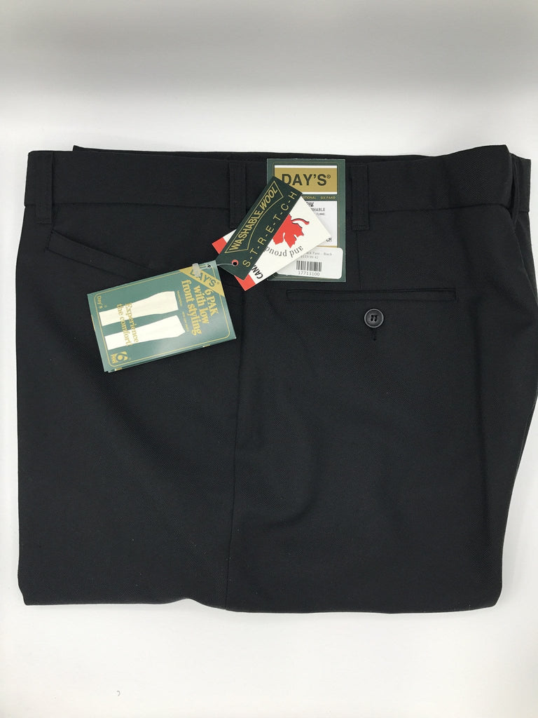 Day's Six-Pack Pant - Black