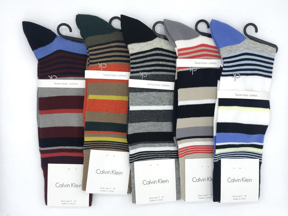 Calvin Klein Striped Sock - MCC103