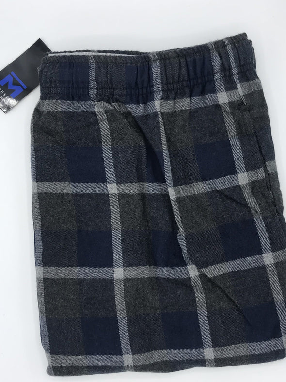 Majestic Dark & Stormy Big and Tall Flannel Pant 11825650 410 Navy