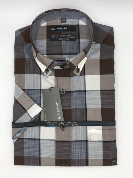 Leo Chevalier Sport Shirt 426379 Regular and Tall