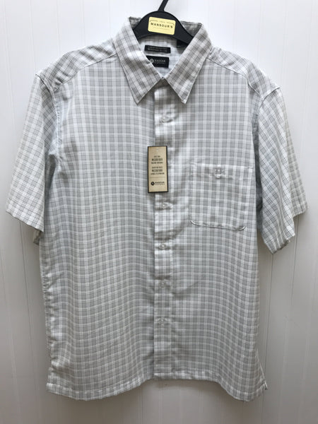 Haggar Short Sleeve Sport Shirt - IWM370 White