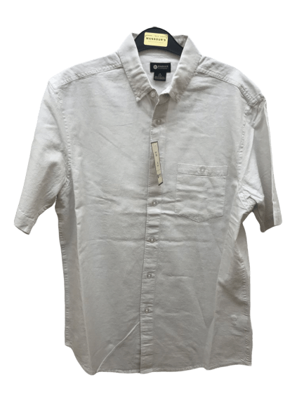 Haggar Short Sleeve Sport Shirt - HMW8S614-R02 White
