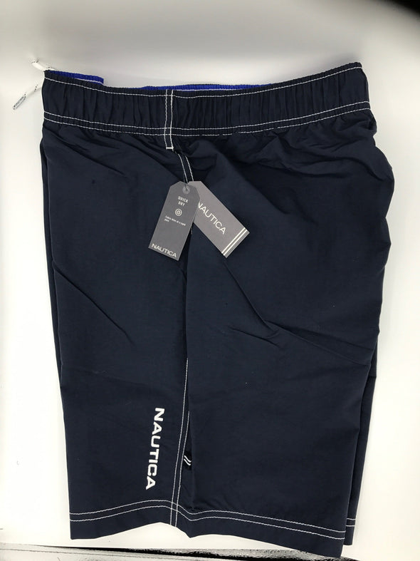 Nautica Solid Swim Trunks