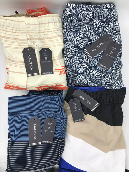 Nautica Print Swim Trunks