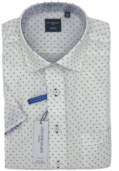 Leo Chevalier Short Sleeve Sport Shirt 522385 1700