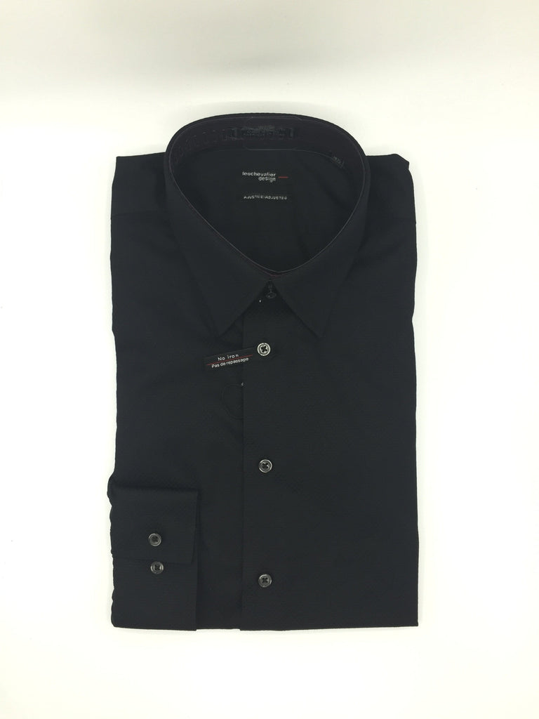Leo Chevalier - Black Tapered Shirt
