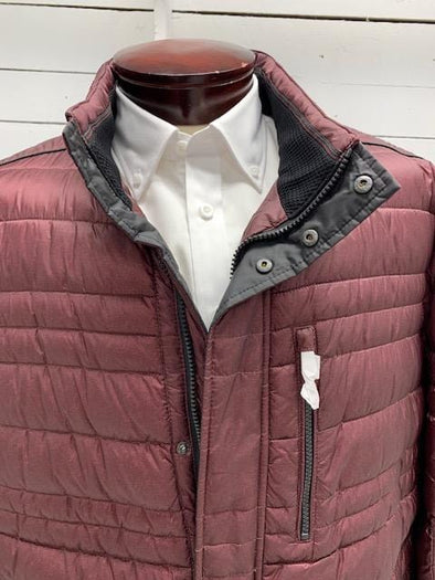 Burgundy Cabano Quilted Winter Jacket 50 US 32816C 4121 58
