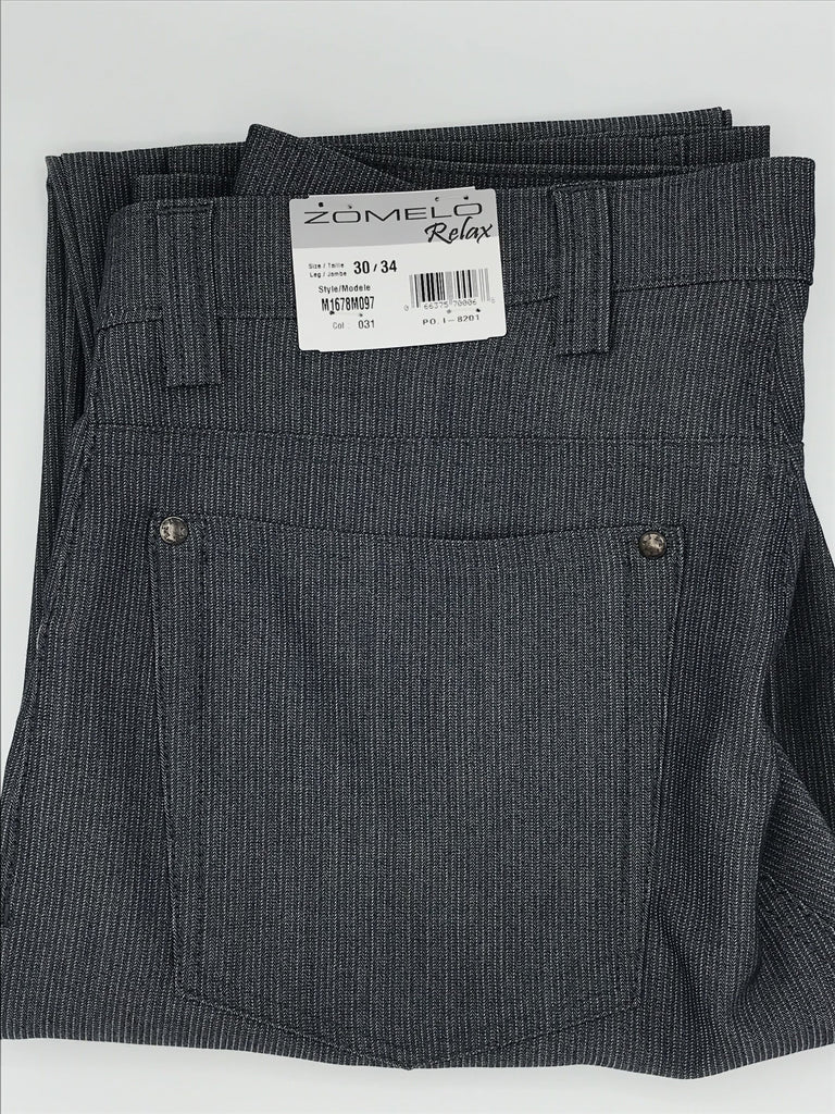 Zomelo by Bertini Casual Pant Grey-M1678M097-031